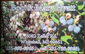 Hyatt Blueberrys Farm