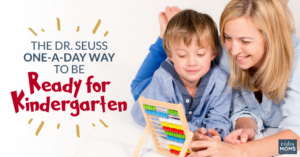 The Dr Seuss One-a-Day Way to Be Ready for Kindergarten {Free Checklist]