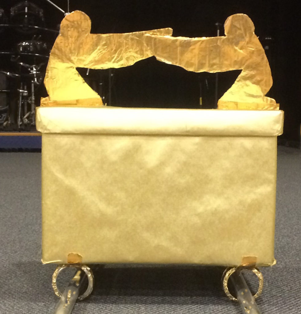 The Ark of the Covenant--at least the Sunday School rendition